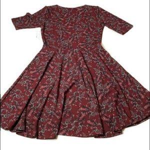 Nicole XL Lularoe Dress short sleeve